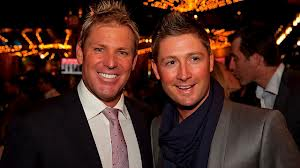 Cricket - Warne and Clarke