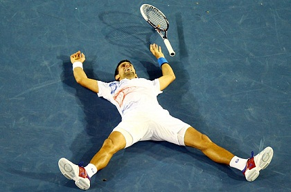 A 6 hour final - no wonder Djokovic is spent...